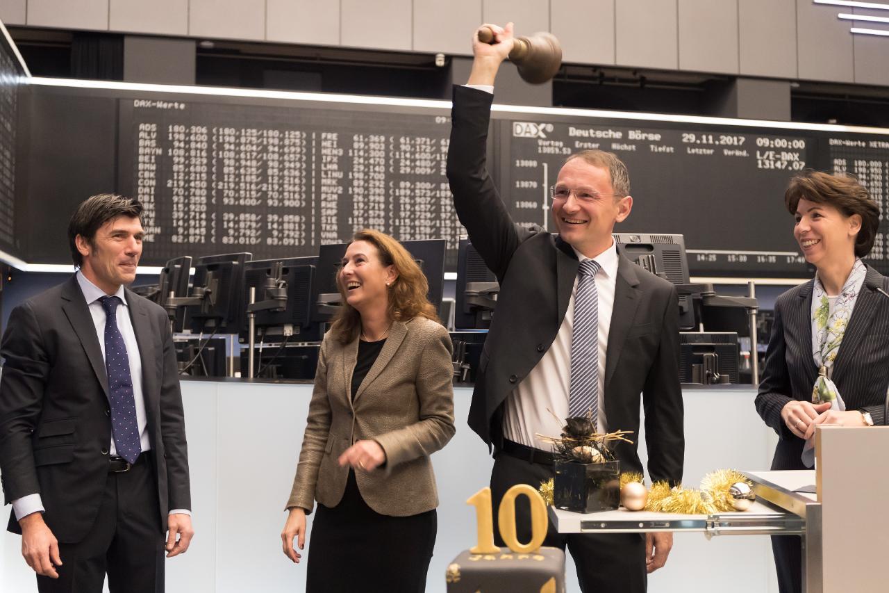 xetra gold deutsche börse
